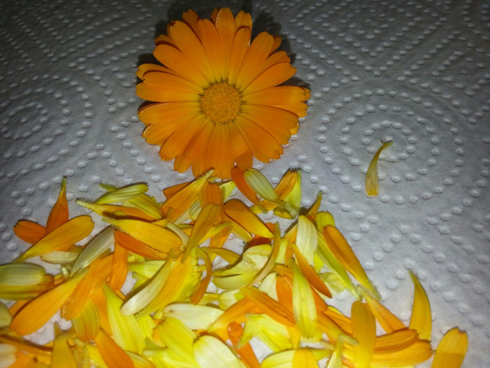 Blomster som kakepynt