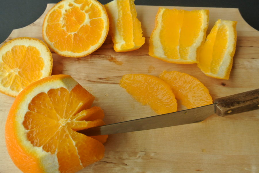 Hvordan skjære ut appelsinfileter