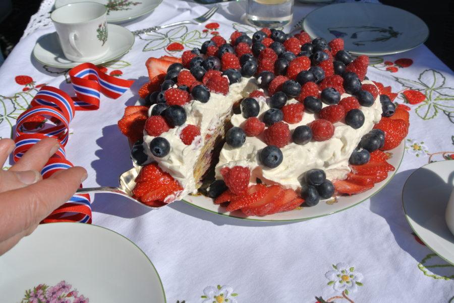 Pannekake-kake til 17. mai