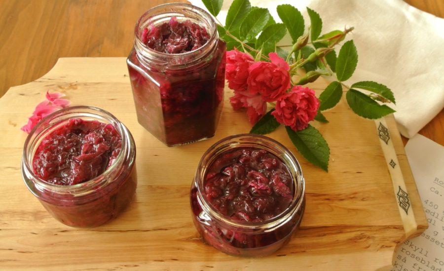 Rosenbladmarmelade