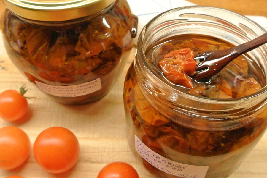Tørkede tomater