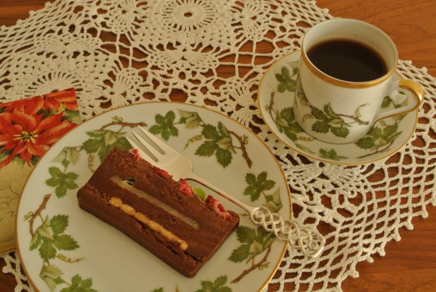 Cocosa- og sjokoladekake