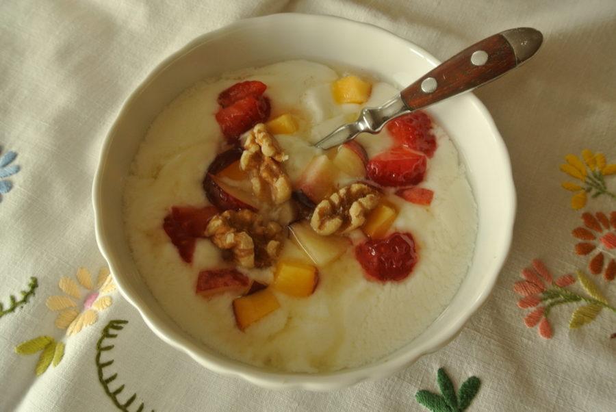 Lettvint, hjemmelaget yoghurt
