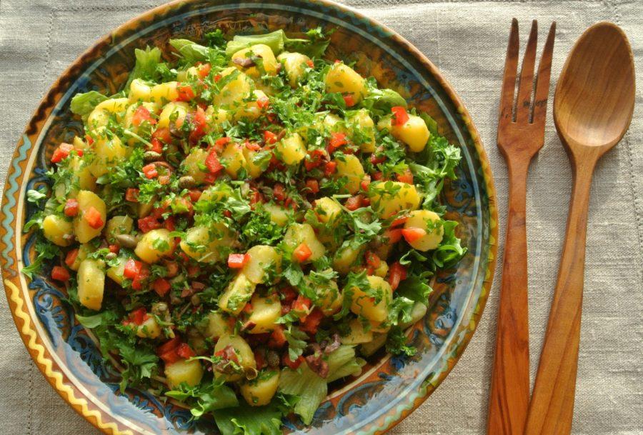 Potetsalat fra Guatemala