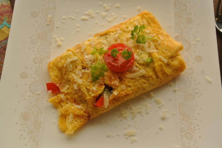 Omelett (med alt)